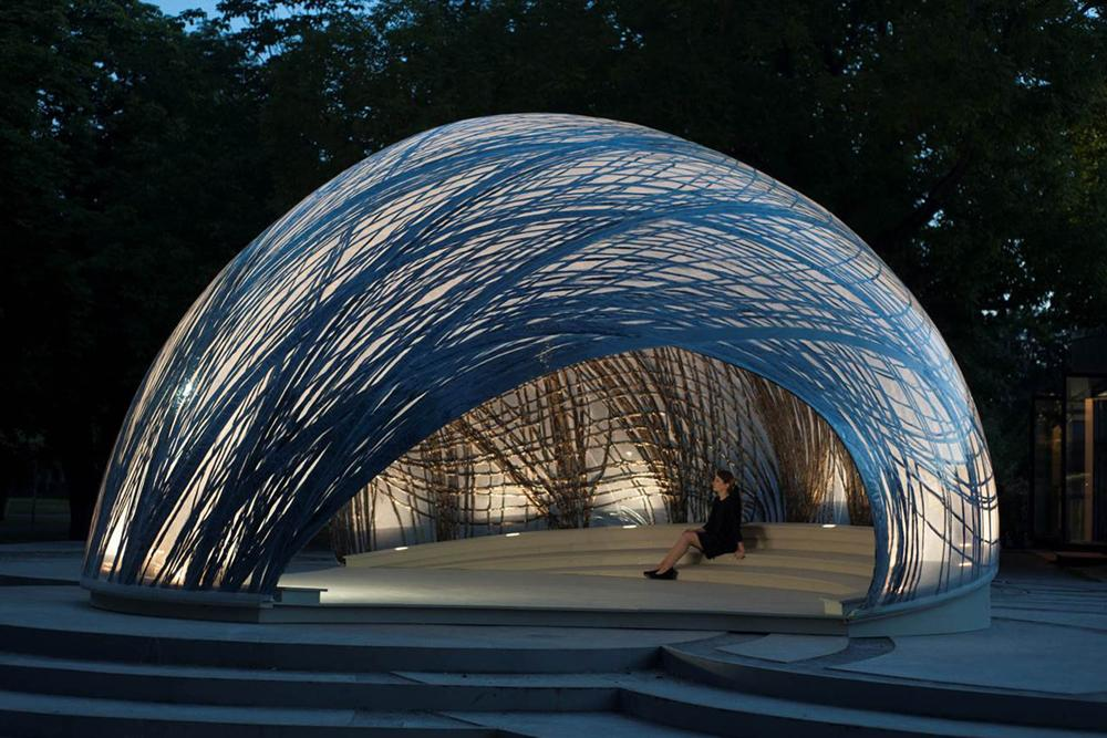 Research Pavilion Itke Stuttgart Knippers Helbig