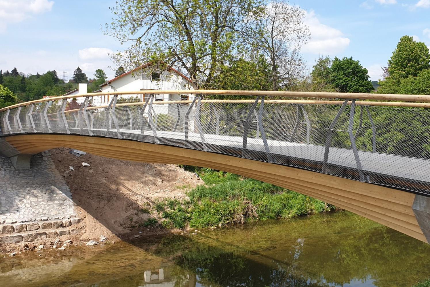 Timber Bridges Remstal Gartenschau 2019   Knippers Helbig Advanced